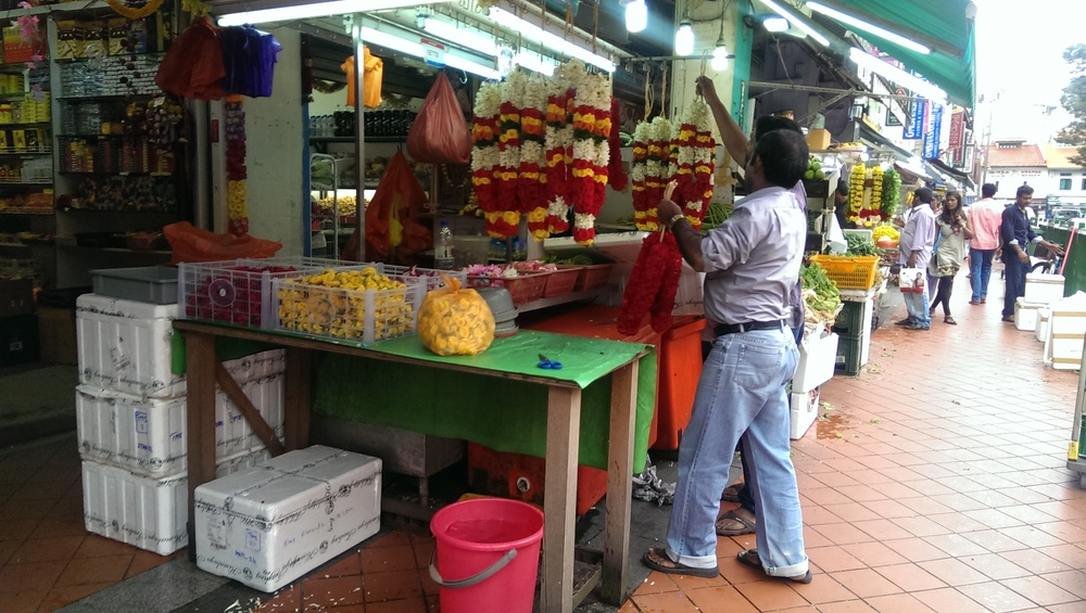 Little India Flower Stall.