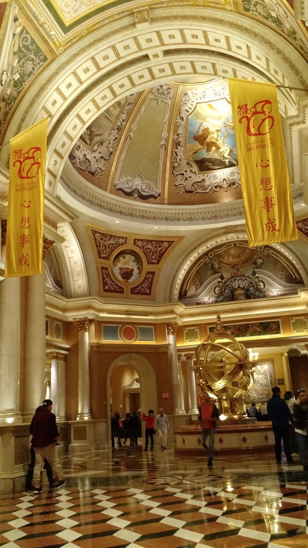 DAY 4 WALK VENETIAN HOTEL CHINESE NEW YEAR