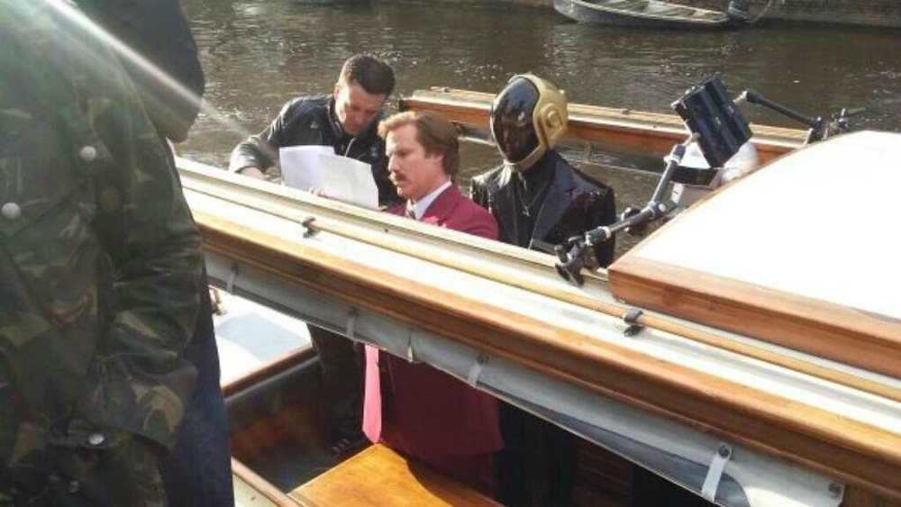 "MTV Europe: EMA ""Hello World with Ron Burgundy"" Jeff Roe with Will Ferrell and Faux Daft Punk"