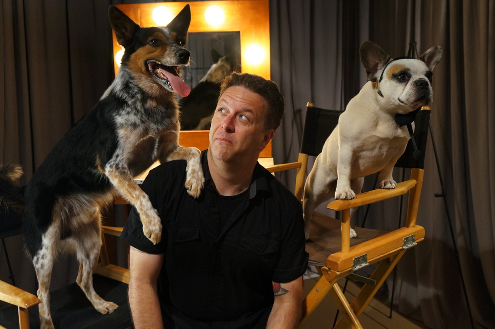 BRAVO Cesar Milan Live!: Jeff Roe trying to mange his animal talent