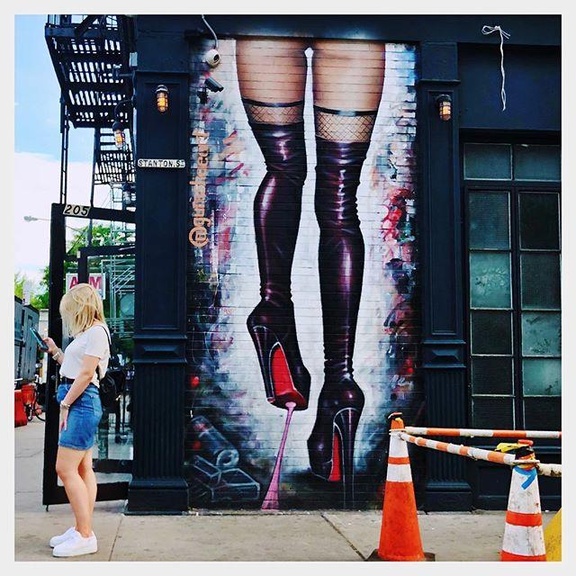 #StreetArt NY/NY May 2018 #RandomPhotoFromAnUber