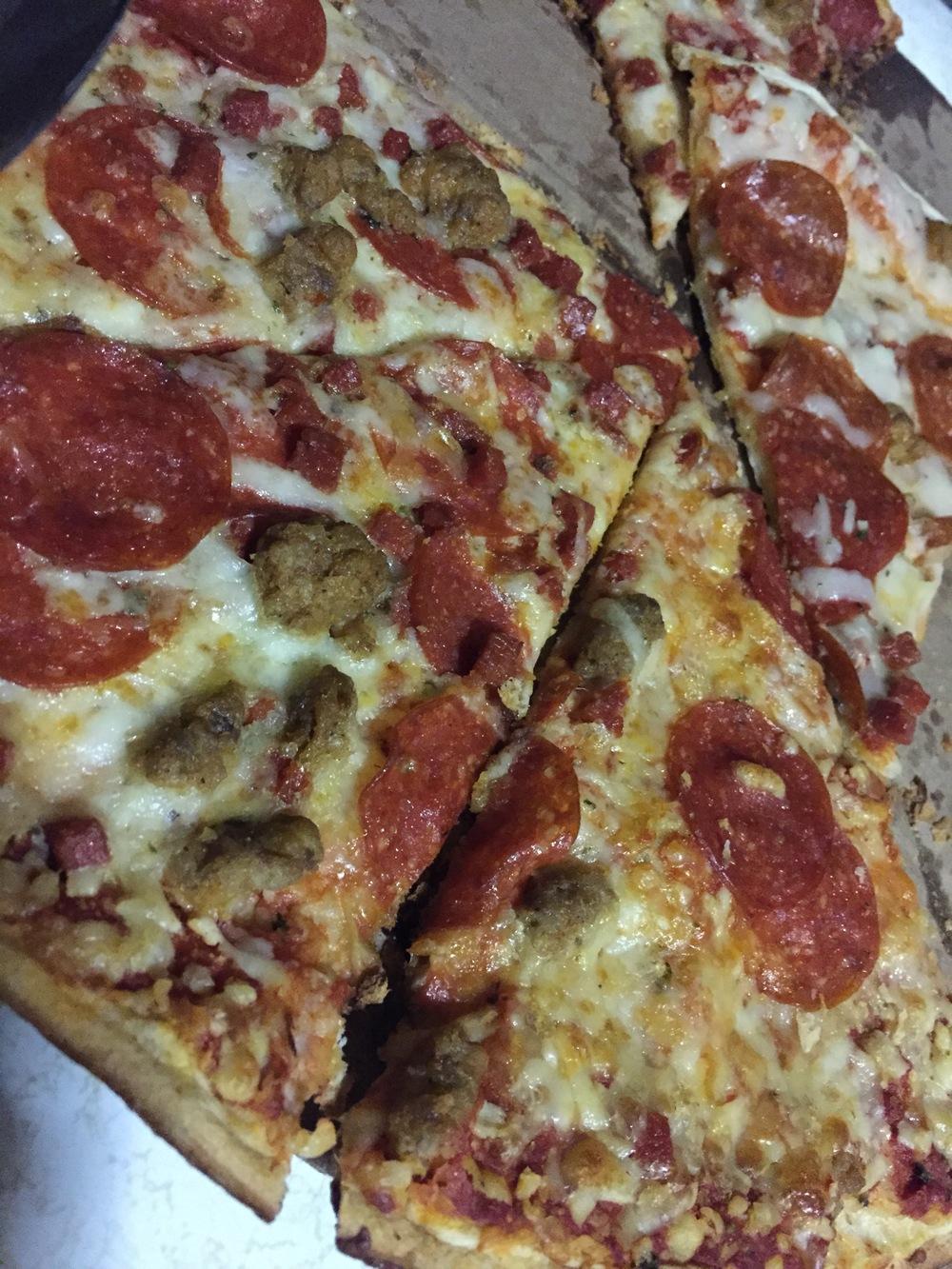 When I said family, I really meant pizza. Just kidding, I meant family. Okay...both.