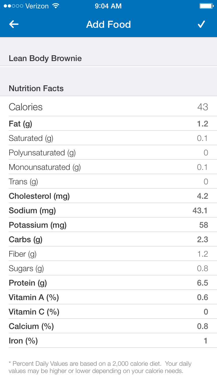 This is the macros for 1/8 of the loaf which is the perfect brownie size!