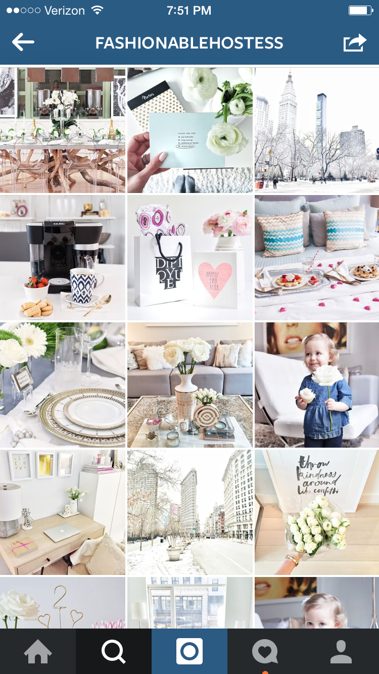 Absolutely love this page!! She is an interior designer based out of NYC and her images are just immaculate.