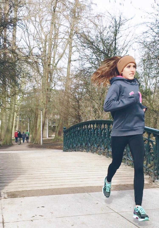Running through Amsterdam <3