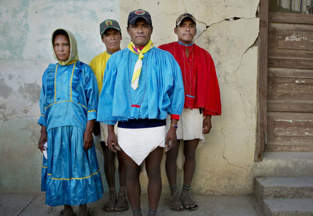 These people run hundreds of miles in these clothes and shoes! Mind boggling!