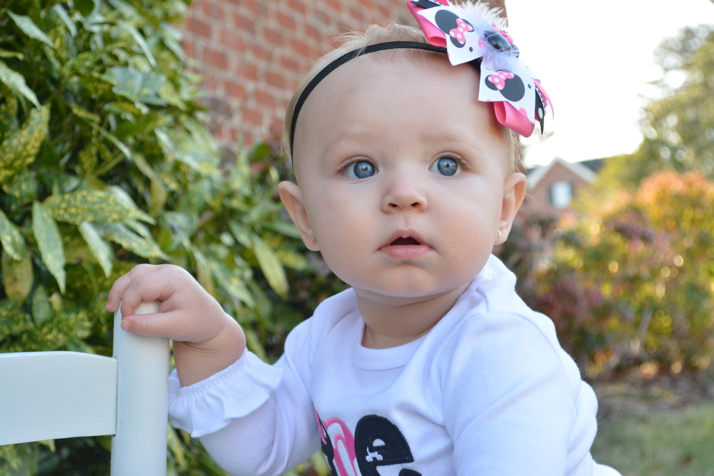 This is my best friends daughter! How perfect is she right!? #babyblues
