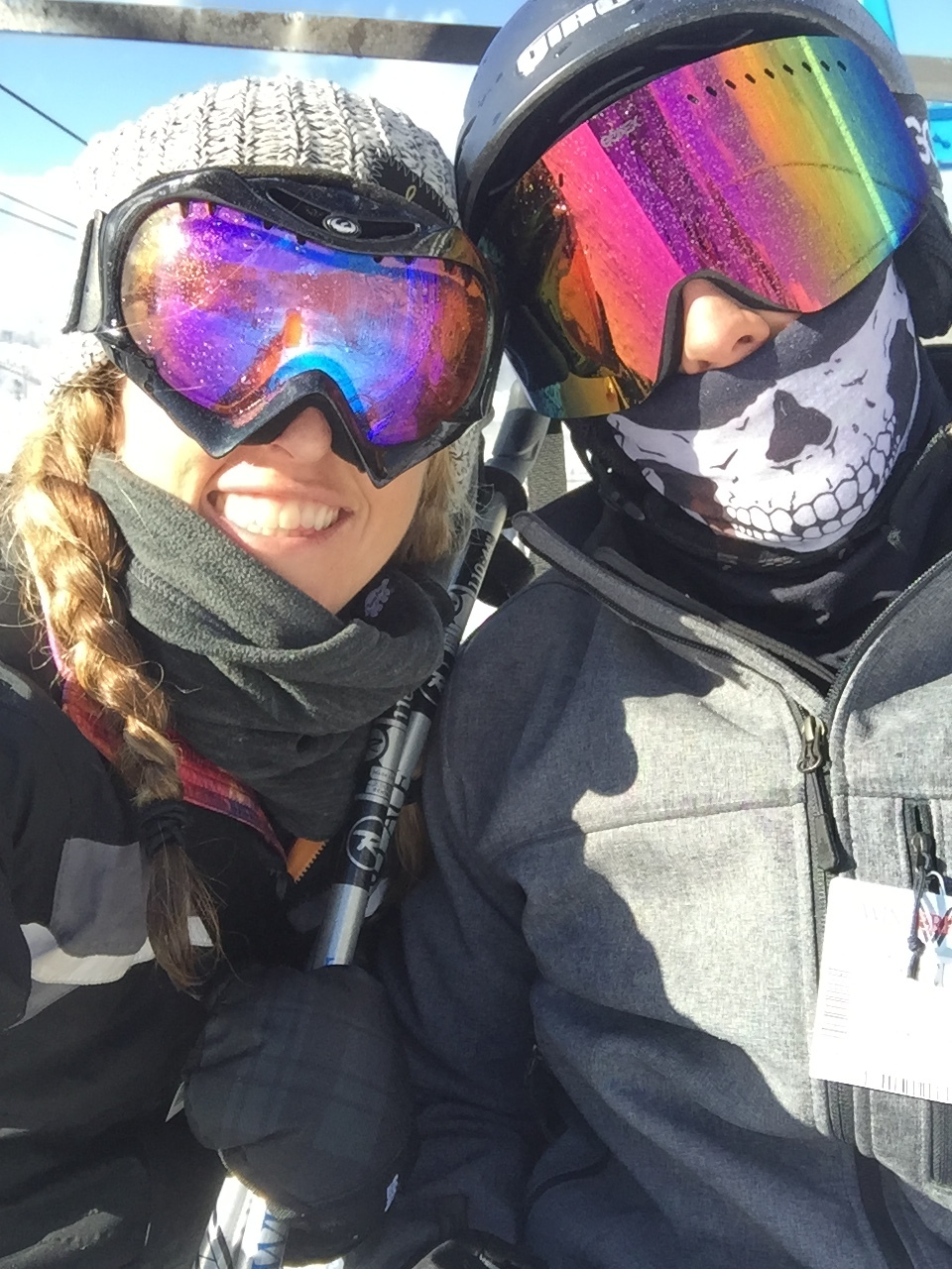 One thing we can both do that we love is SKI!!! So much fun this weekend!