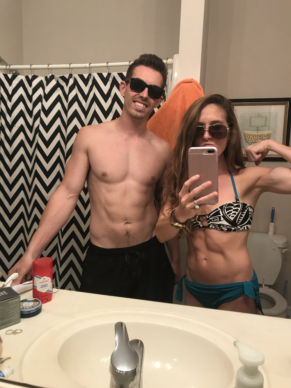 I'm such a douche bag and made my husband take this with me! HAAA! This is also one of my best friends bathrooms so I kinda hope she texts me to remind me what a tramp I am.