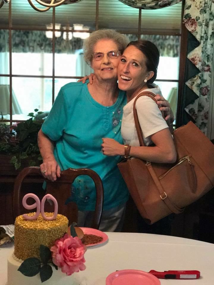 my grandmother turned 90 on Monday and she is such a beautiful person inside and out - if i could be a little bit more like her every day i would be a happy girl and love that we share birthday weeks <3 (grandmother-Sept4, nephew-Sept5, me-Sept6, brother-Sept7 ha)
