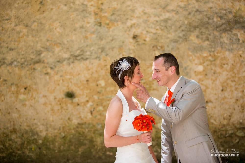 Mariage Maëlle&Jean-Philippe à Vendome(41) puis au Clos du Loir à Montoire