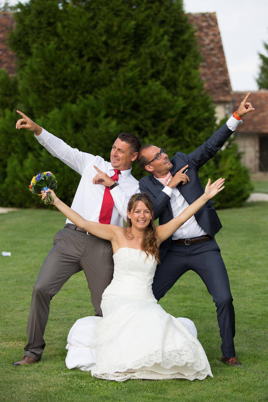 La mariée et ses frères