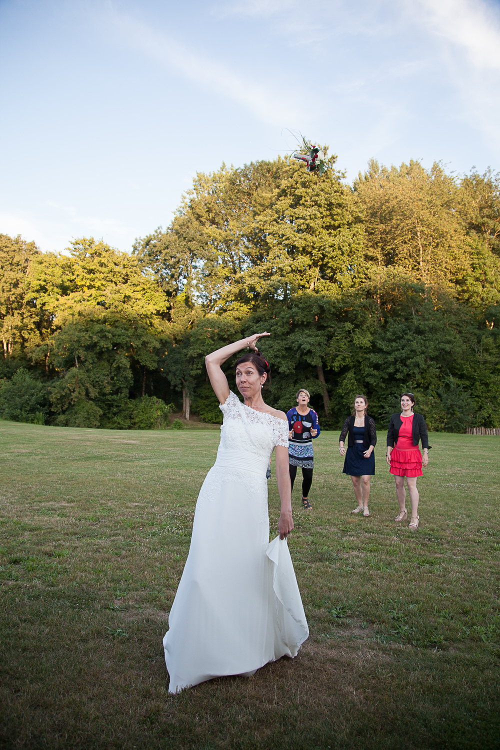Reportage photo d'un mariage au moulin d'Abas