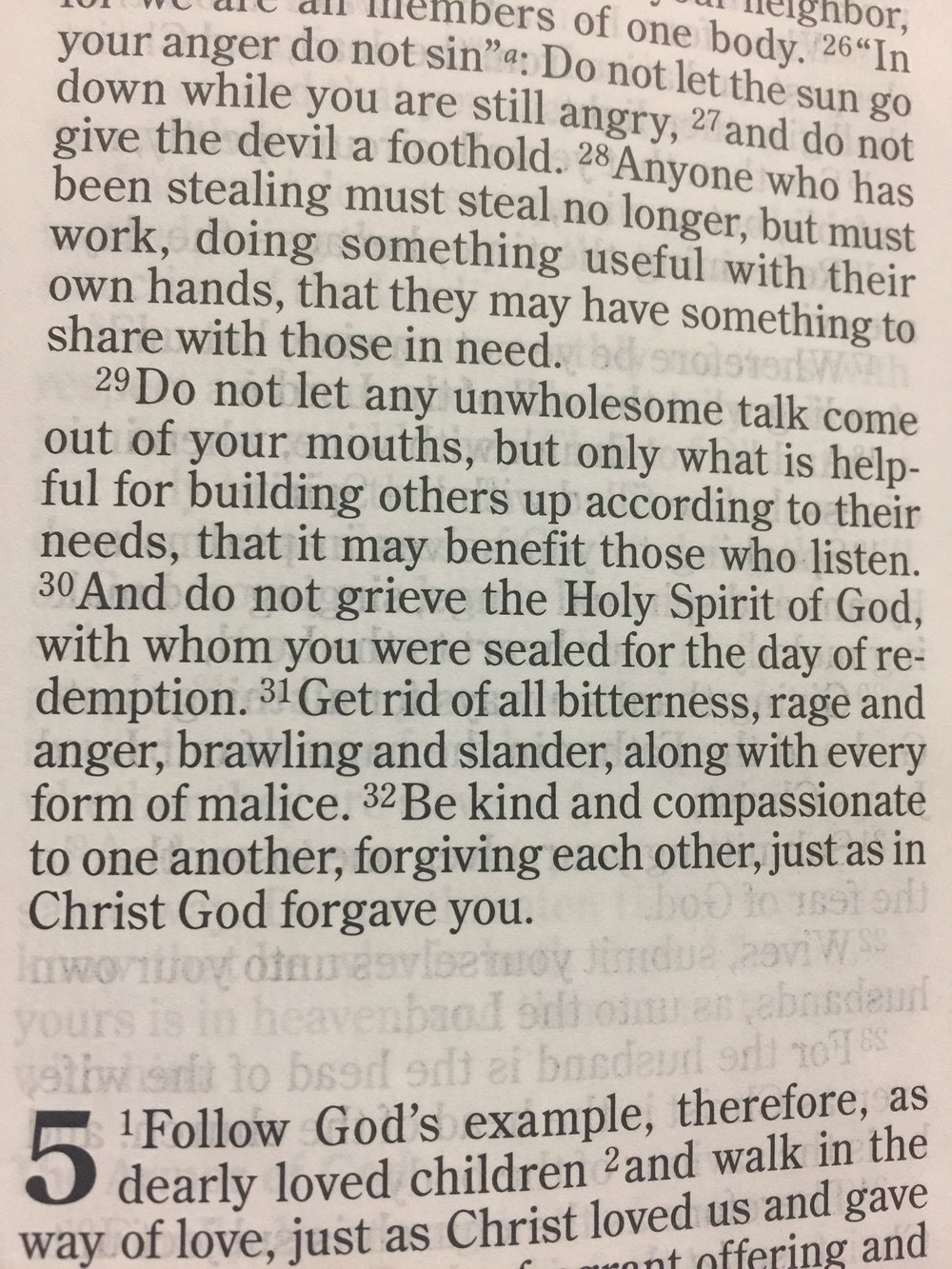 Scripture from our lesson on how to talk to others: Ephesians 4:29.