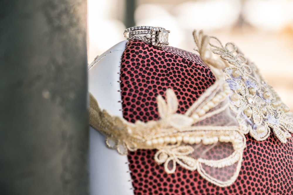 Wedding Garter Football Toss by Lagniappe Life