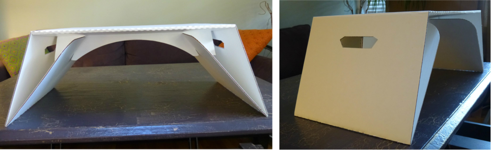 Lapdeck front and side