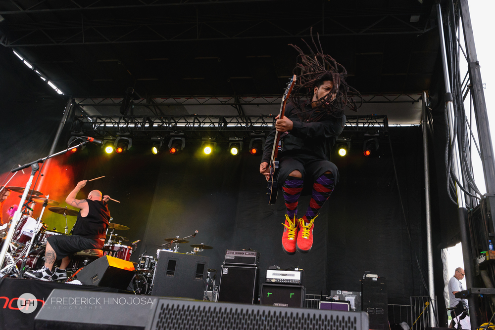 Rasheed Thomas of Nonpoint at Fiesta Oyster Bake in San Antonio