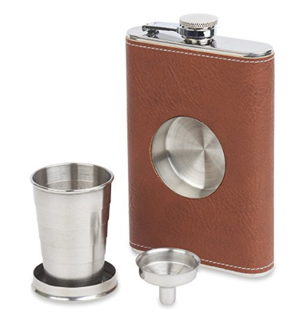 Flask & Collapsible Shot Glass // Amazon