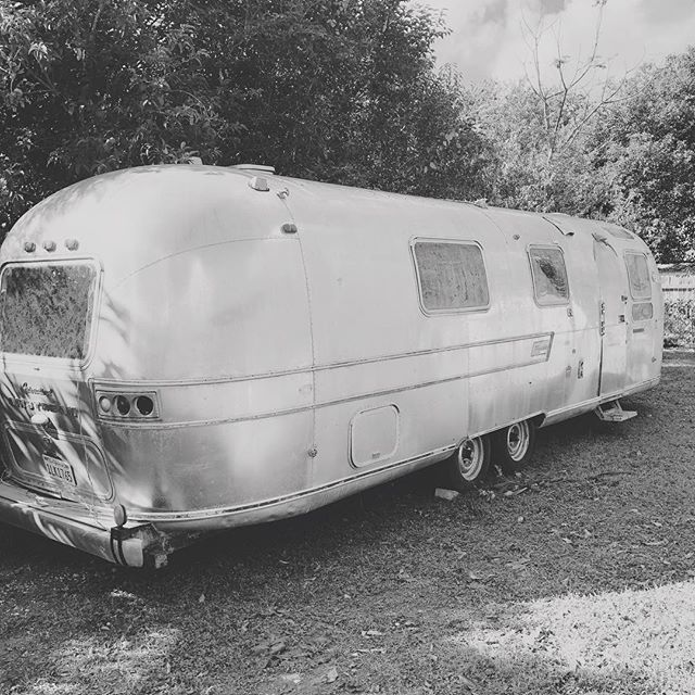 Throwback to the time I bought this big ole project #airstream #makersgonnamake
