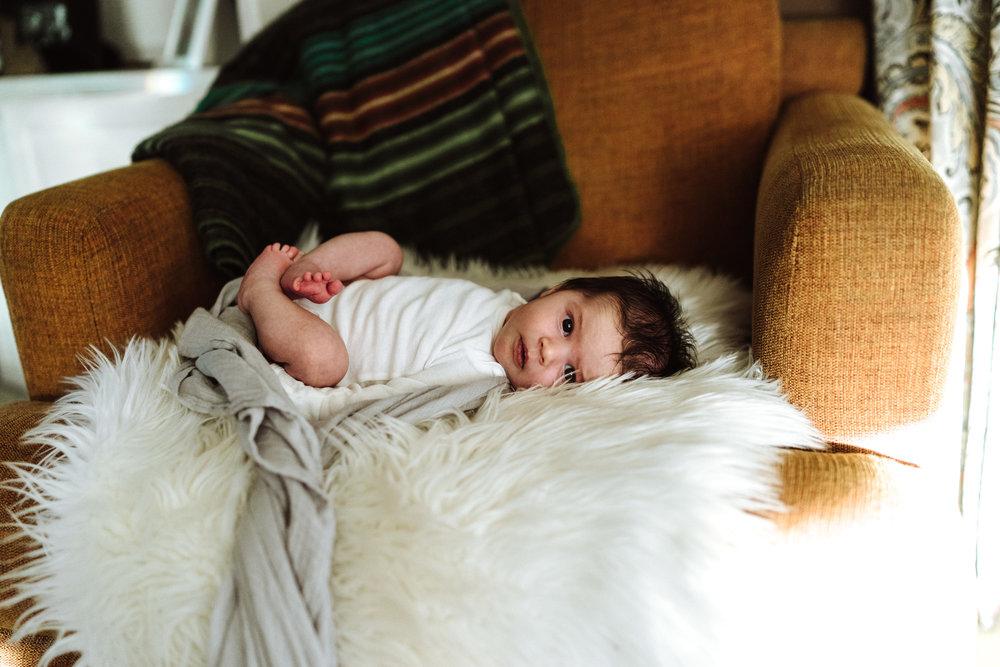 Minnesota newborn lifestyle photography