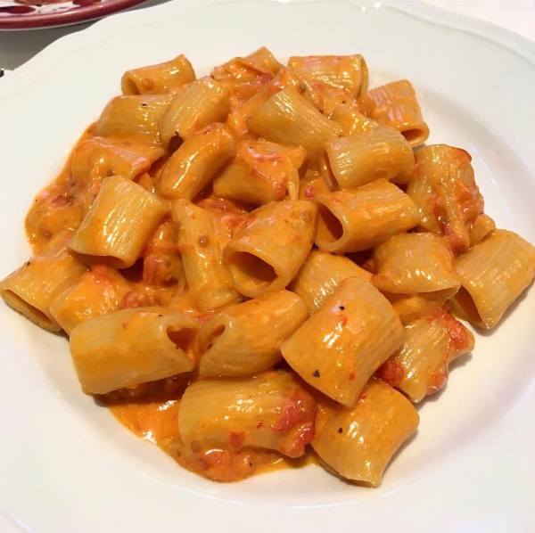 Rigatoni Vodka