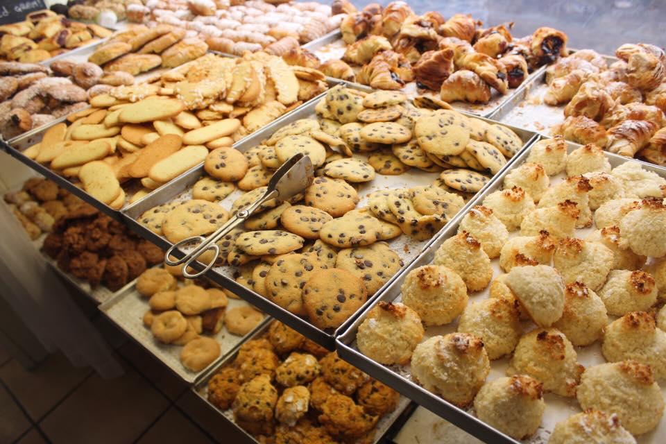 Assorted cookies @  La Panetteria Romana e Spaccio di Paste