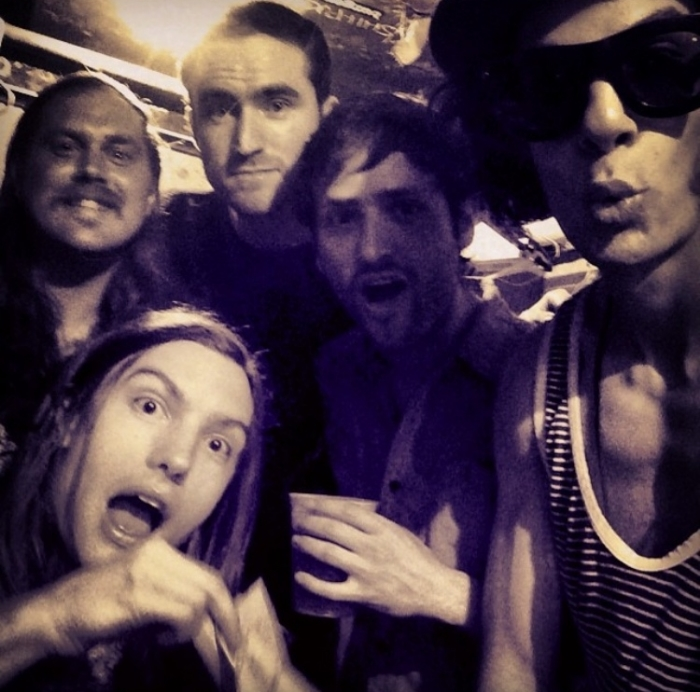 Isadora band selfie.jpg