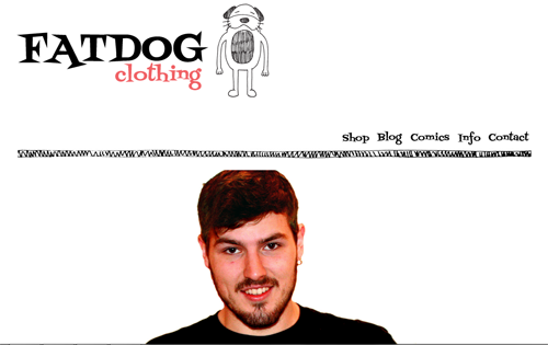 Fat Dog Clothing Website