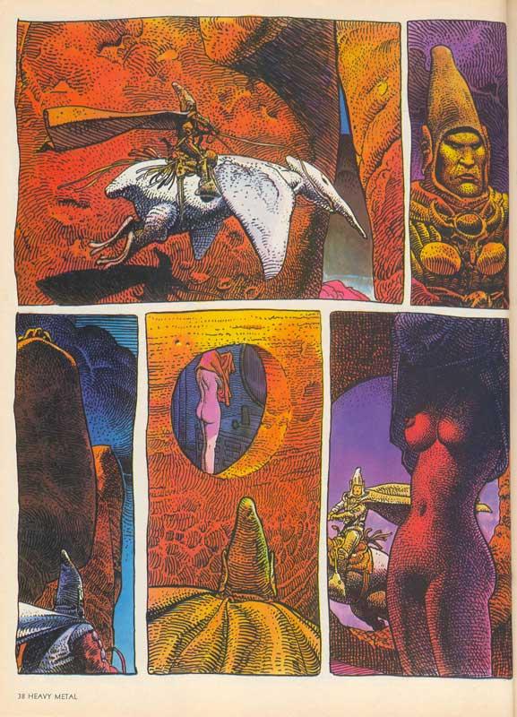 Arzach Page 2