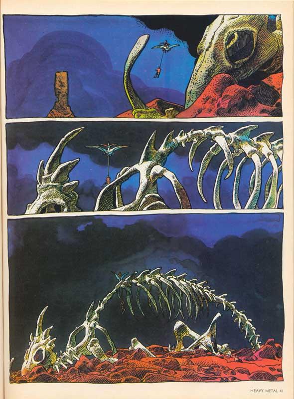 Arzach Page 3