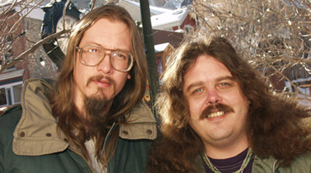 Mark Borchardt and his friend Mike Schank