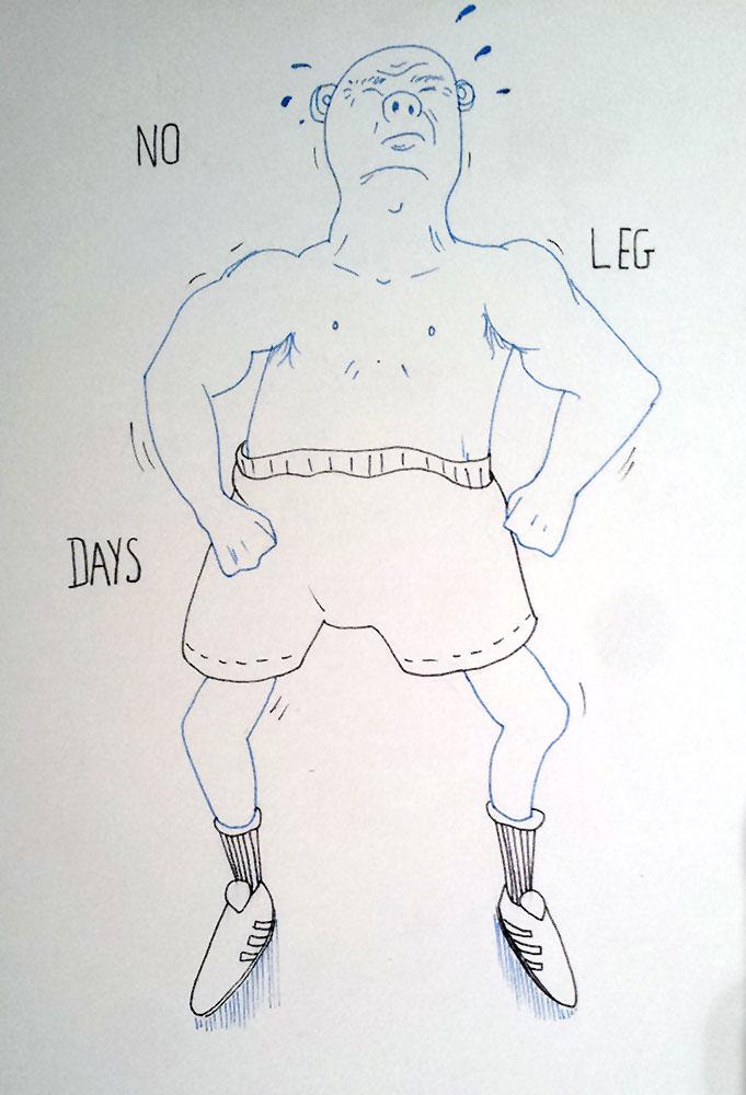 1 - No Leg Days