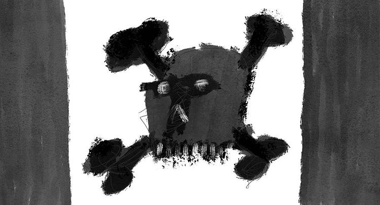 Copy of 55 - Pirate Flag