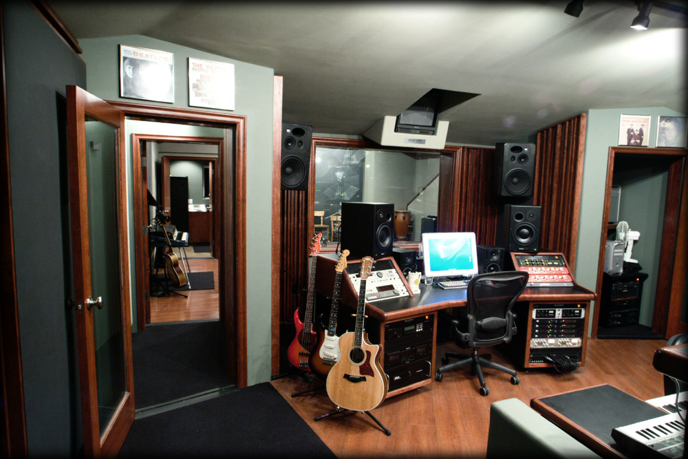 The studio at Pendulum Music is a Pro Tools room with Chandler and Focusrite Preamps.