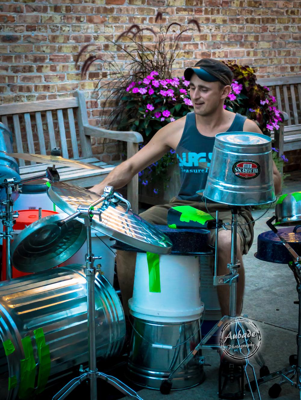 eau claire photographer aubade photography wis dells drummer 1