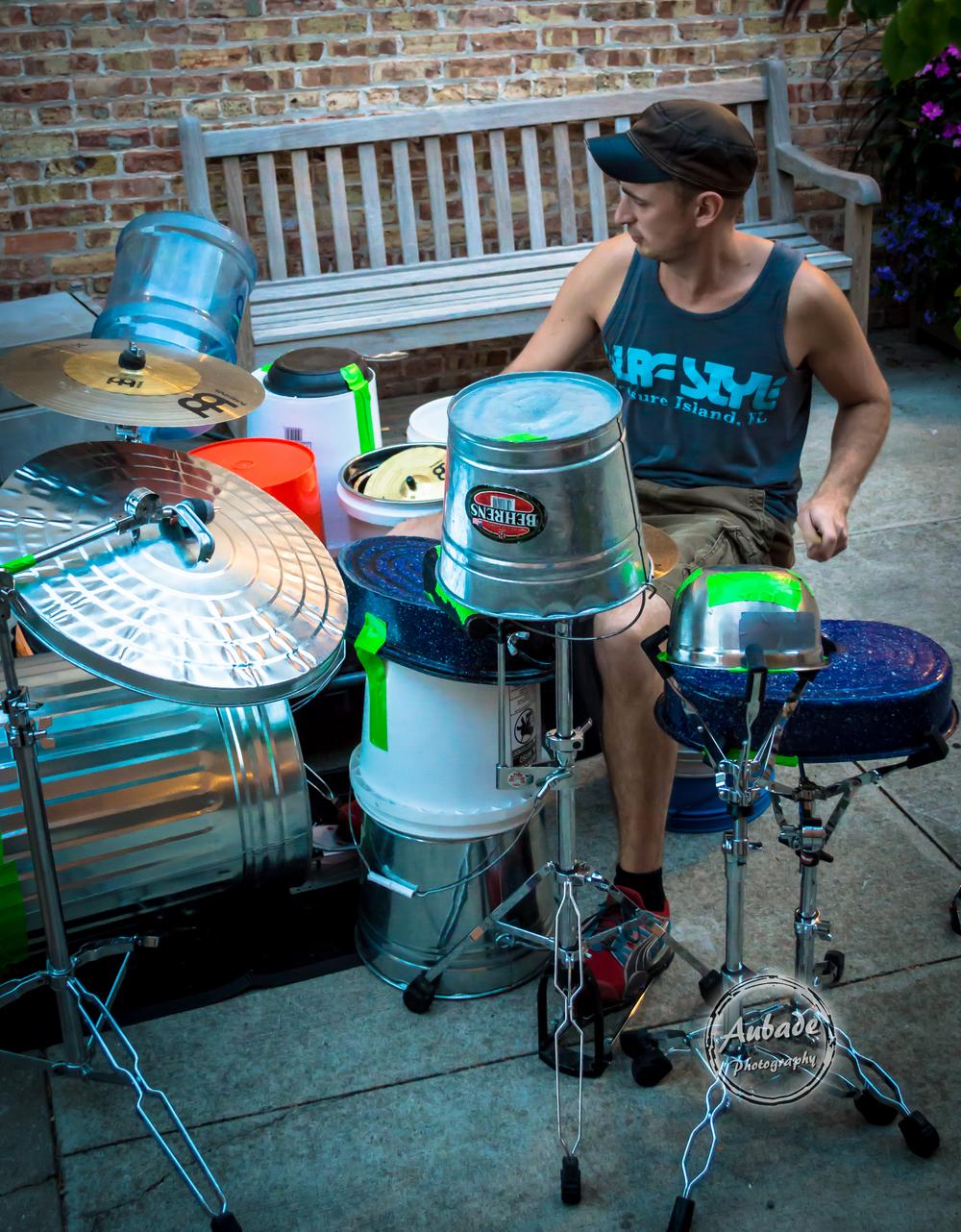 eau claire photographer aubade photography wis dells drummer 2