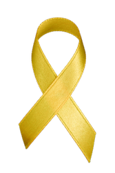 gold ribbon children's cancer