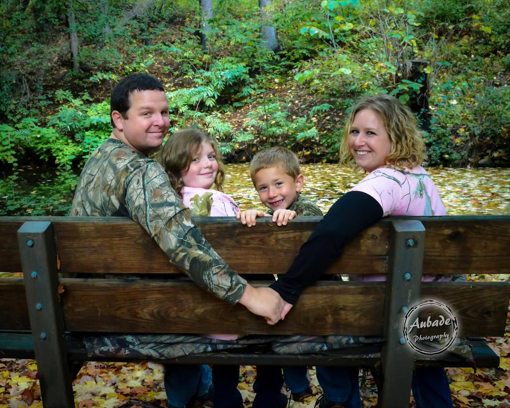 #Aubade Photography #Eau Claire Photographer #Chippewa Valley #Fall Family Photos #Camo photos