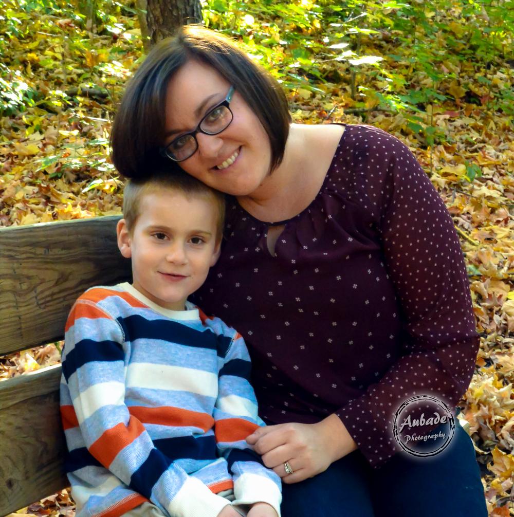 #Aubade Photography #Eau Claire Photographer #Mother Son #Fall Photography #Family Photos