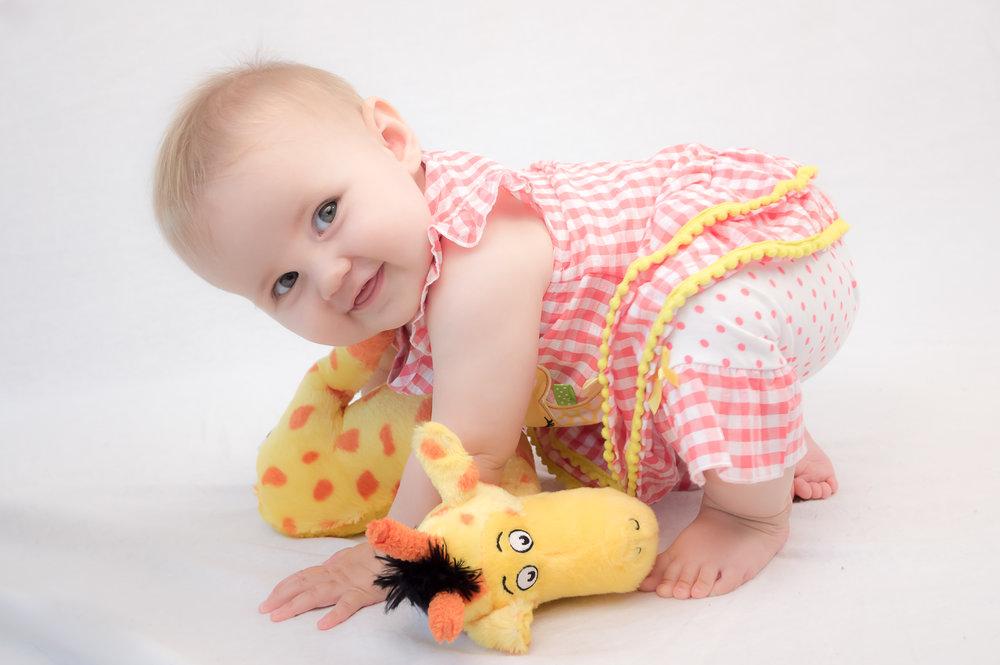 Hattie 8 months