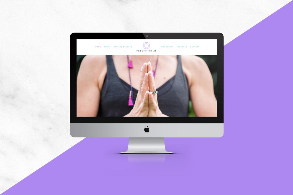 YogaWithKylie | Love Indigo Creative