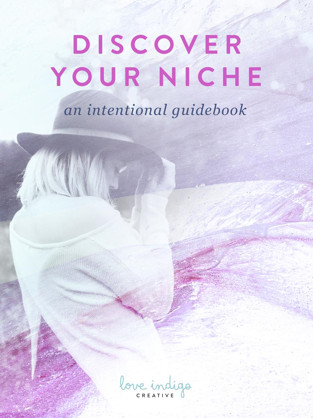 Discover Your Niche - Free eBook | Love Indigo Creative