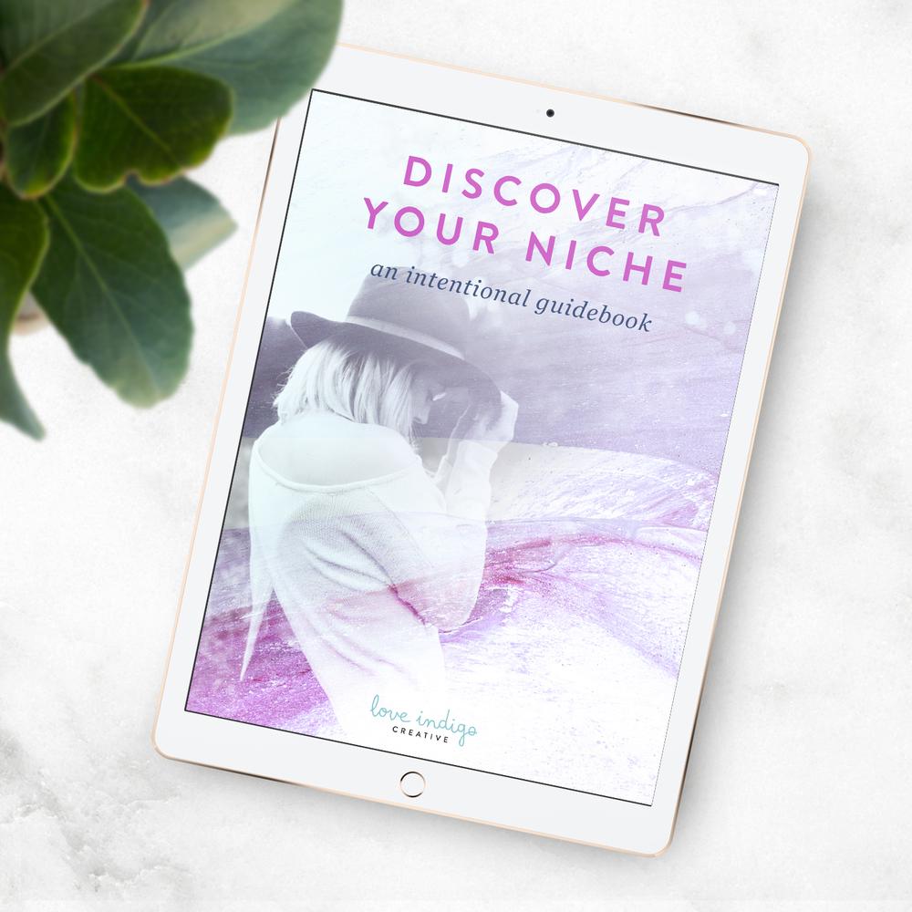 Discover your Niche eBook | Love Indigo Creative