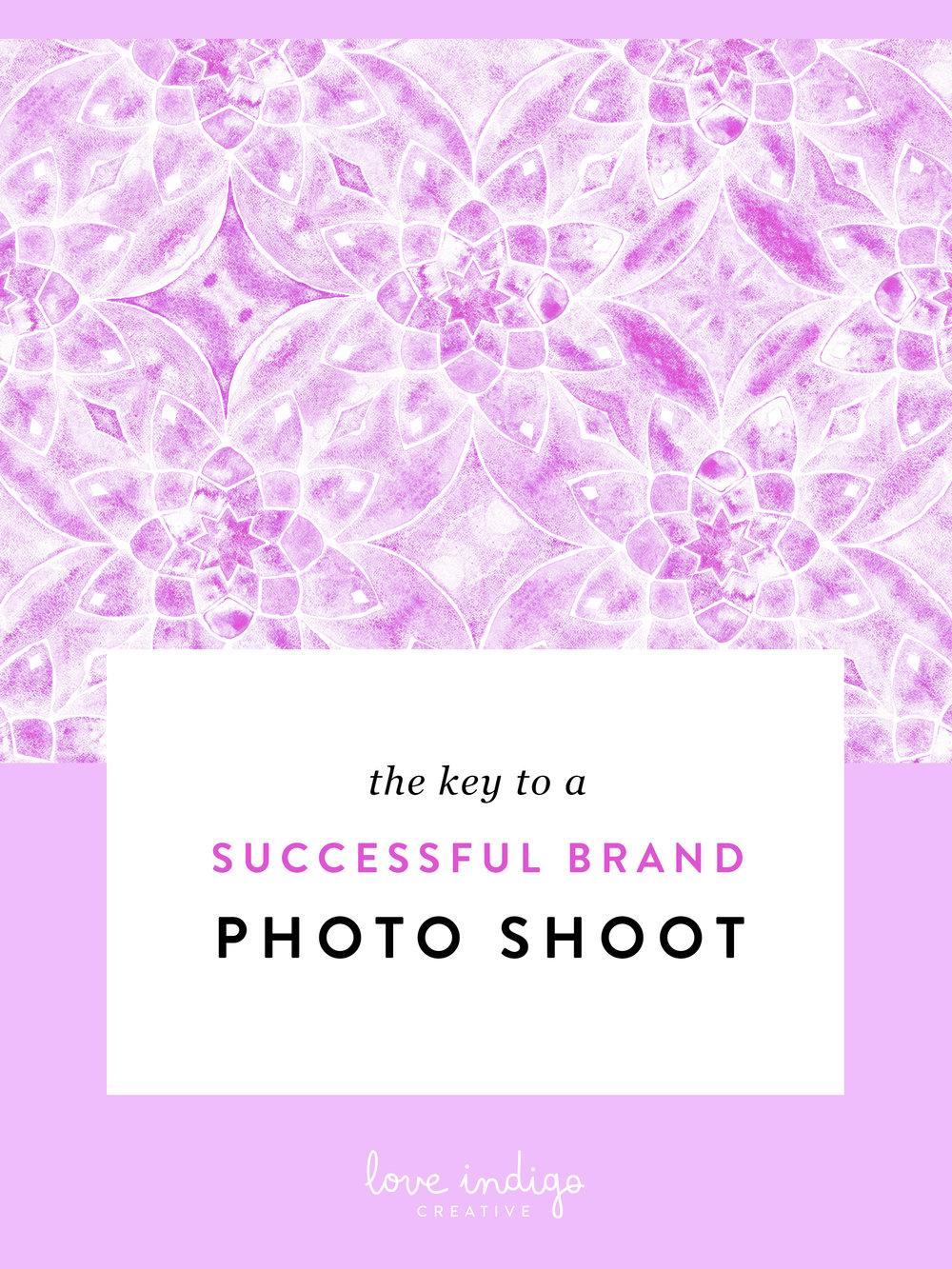 The Key to a Successful Brand Photo Shoot | Love Indigo Creative