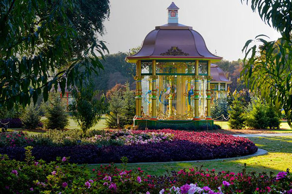 12 Days of Christmas Holiday Gazebo -  Photo via Dallas Arboretum