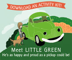 Check out the Little Green Truck Activity Kit!