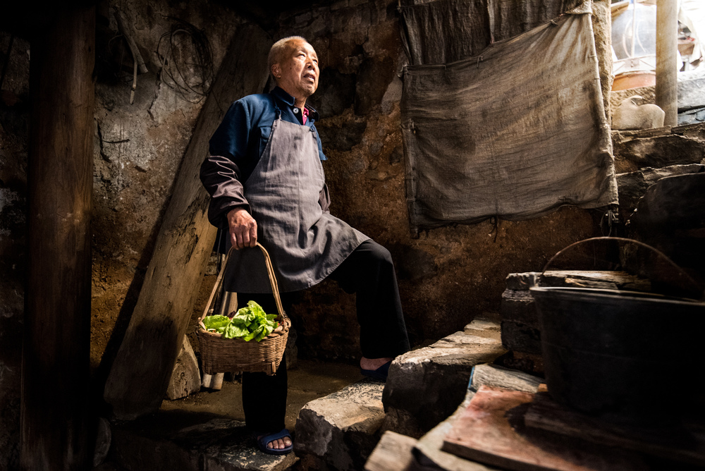 Environmental Portrait in Daxu China