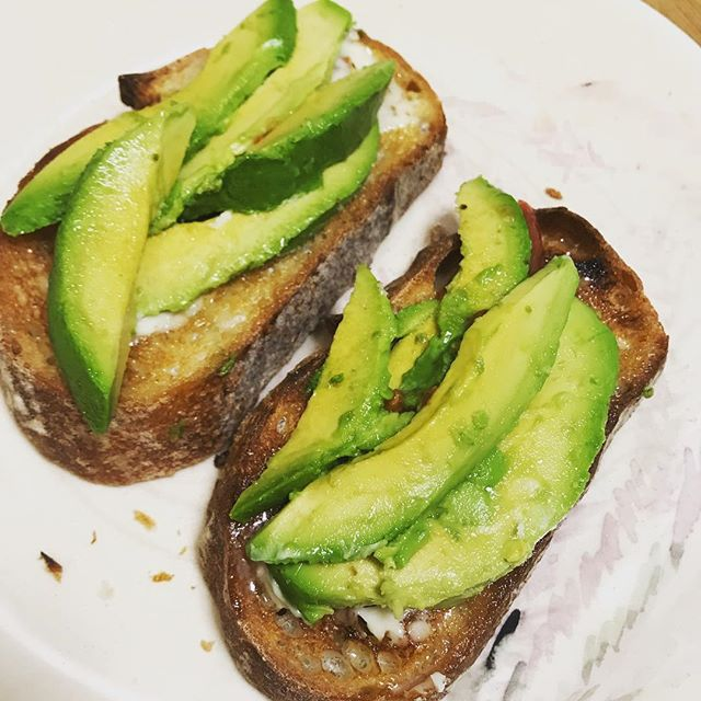 Sunday morning  super yummy Avocado toast