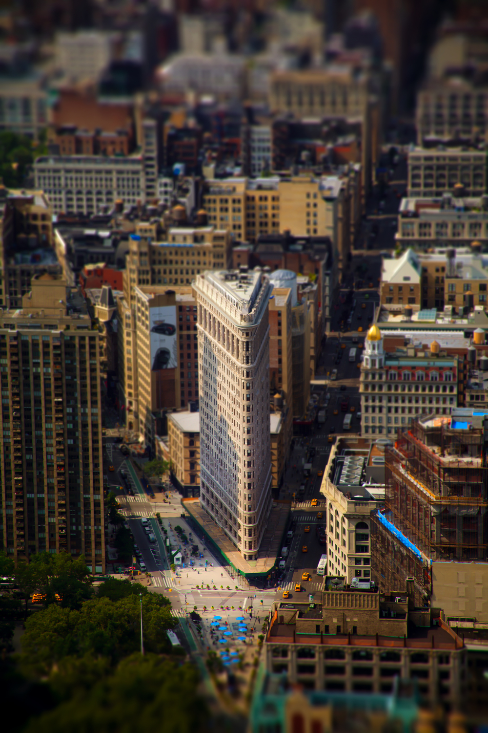 Flatiron Tilt Shift