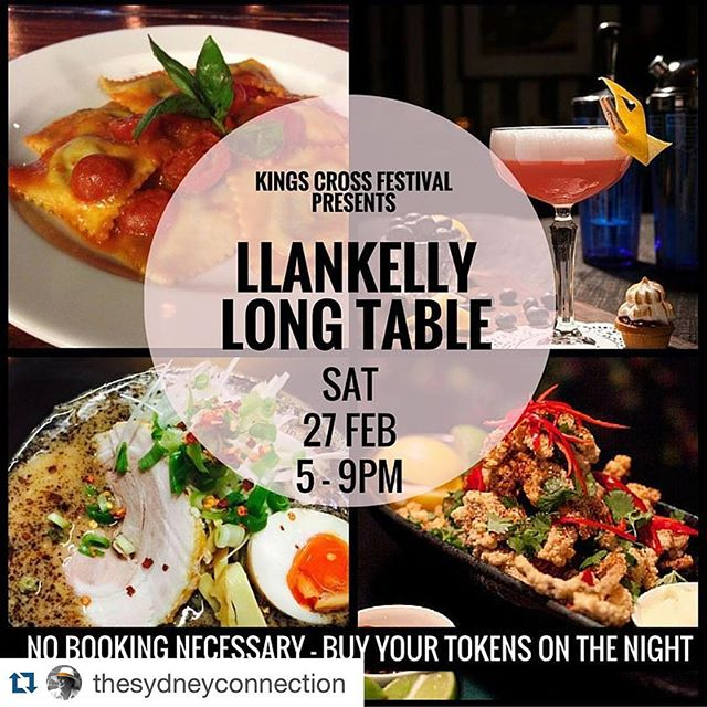 #Repost @thesydneyconnection with @repostapp. ・・・ Llankelly Place is the place to be this Saturday night with the restaurants & bars on the strip all cranking-up their street food menu for the night! Part of the weekend events for @kingscrossfestival. http://ow.ly/YAqJZ #kingscrossfestival  #llankellyplace #streetfood #food #saturdayinsydney #kingscrossfestival #pottspoint #potttspointpartnership #keepsydneyopen #thesydneyconnection http://ow.ly/YAr90@